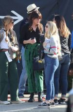 LIV TYLER on the Set of 911 Lone Star in Los ANgeles 02/05/2020