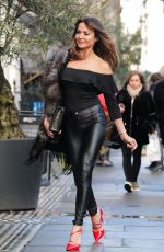 LIZZIE CUNDY Out and About in London 02/14/2020