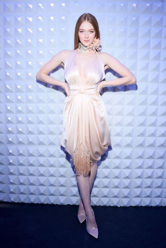 lLARSEN THOMPSON at Roger Vivier Press Day at Paris Fashion Week 02/27/2020