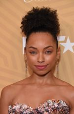 LOGAN BROWNING at American Black Film Festival Honors in Los Angeles 02/23/2020