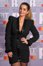 LOUISE REDKNAPP at Brit Awards 2020 in London 02/18/2020