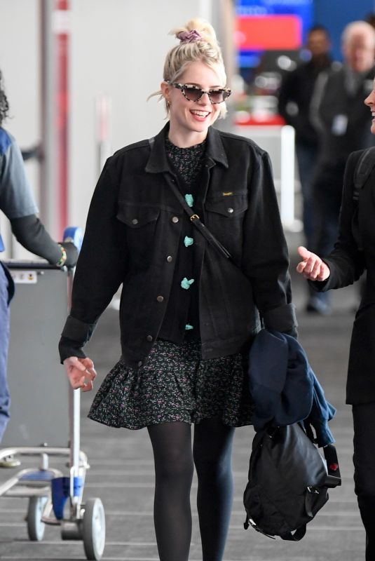 LUCY BOYNTON at Los Angeles International Airport 02/16/2020