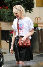 LUCY BOYNTON Leaves Her Hotel in Paris 02/27/2020
