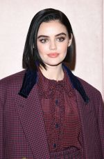 LUCY HALE at Fendi Fashion Show in Milan 2/20/2020