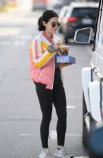 LUCY HALE Out and About in Los Angeles 02/17/2020