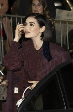 LUCY HALE Out and About in Milan 02/20/2020