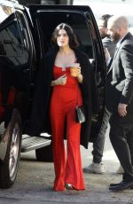 LUCY HALE Out in Los Angeles 02/10/2020