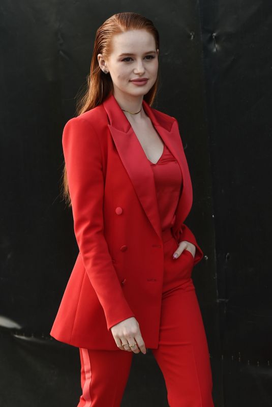 MADELAINE PETSCH at Boss Fashion Show at MFW in Milan 02/23/2020