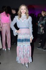 MADELEINE ARTHUR at Anna Sui Show at New York Fashion Week 02/10/2020