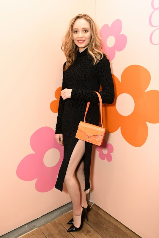 MADELEINE ARTHUR at Edie Parker Toasts NYFW with New Collections, Cupids and Chocolate Fondue 02/10/2020