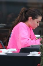 MADISON BEER at Chin Chin in West Hollywood 02/25/2020