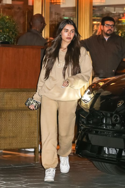 MADISON BEER Out for Dinner in West Hollywood 02/11/2020