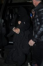 MADONNA Arrives at The Palladium in London 02/02/2020