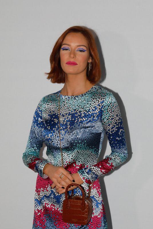 MAEVA COUCKE at Leonard Fashion Show at PFW in Paris 02/27/2020