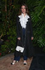 MAGGIE ROGERS at Charles Finch and Chanel Pre-oscar Awards in Los Angeles 02/08/2020