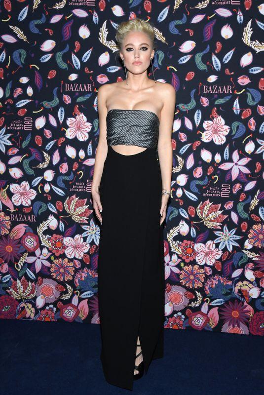 MAIKA MONROE at Harper's Bazaar Exhibtion in Paris 02/26/2020