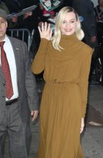 MARGOT ROBBIE Arrives at Good Morning America in New York 02/04/2020