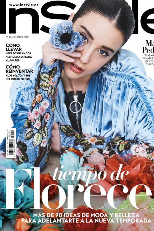 MARIA PEDRAZA for Instyle Magazine, Spain February 2020