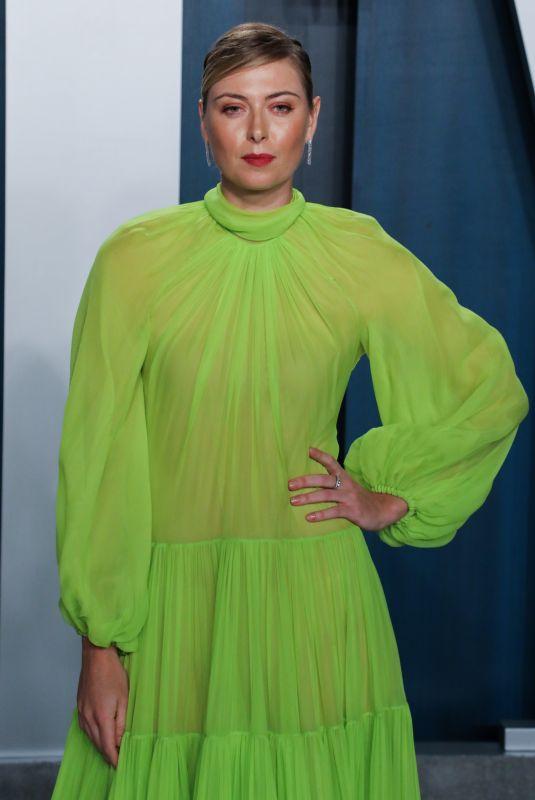 MARIA SHARAPOVA at 2020 Vanity Fair Oscar Party in Beverly Hills 02/09/2020