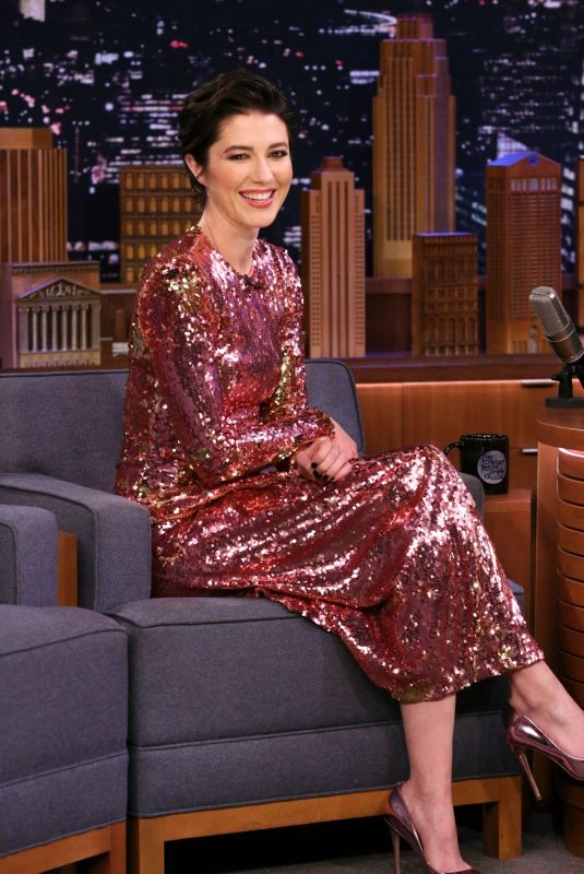MARY ELIZABETH WINSTEAD at Tonight Show Starring Jimmy Fallon 02/03/2020
