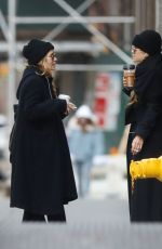 MARY-KATE and ASHLEY OLSEN Out in New York 02/08/2020
