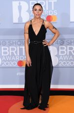 MELANIE CHISHOLM at Brit Awards 2020 in London 02/18/2020