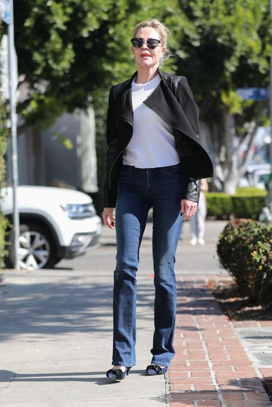 MELANIE GRIFFITH Out Shopping in West Hollywood 02/08/2020