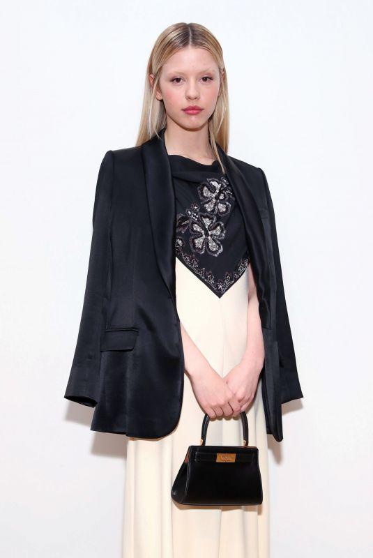 MIA GOTH at Tory Burch Fall/Winter 2020 Fashion Show in New York 02/09/2020