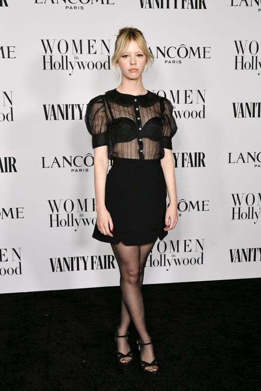 MIA GOTH at Vanity Fair & Lancome Toast Women in Hollywood in Los Angeles 02/06/2020