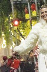 MICHELLE HUNZIKER and Tomaso Trussardi Celebrates Valentine