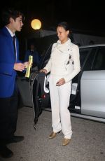 MICHELLE RODRIGUEZ Arrives at WME Pre-oscars Party in Hollywood 02/07/2020