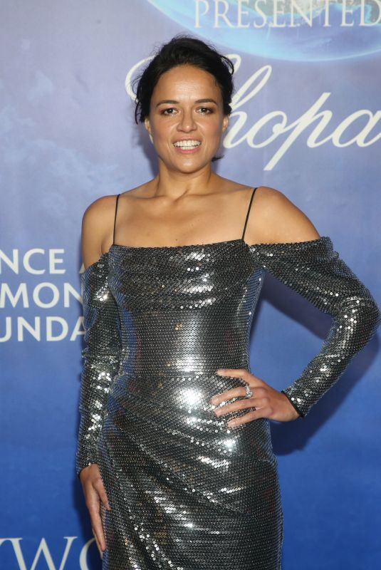 MICHELLE RODRIGUEZ at 2020 Hollywood for the Global Ocean Gala in Beverly Hills 02/06/2020