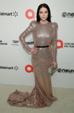 MICHELLE TRACHTENBERG at Elton John Aids Foundation Oscar Viewing Party in West Hollywood 02/09/2020