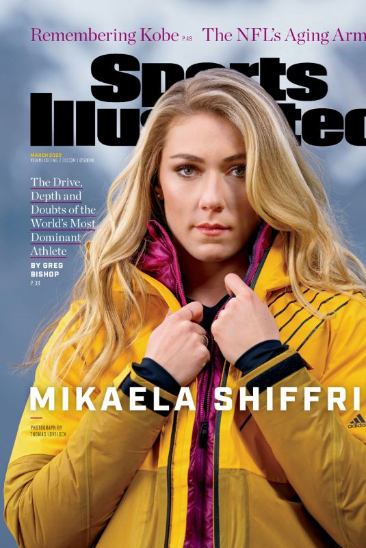MIKAELA SHIFFRIN in Sports Illustrated Magazine, March 2020