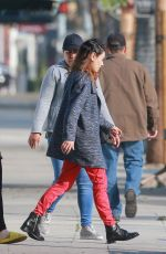 MILA KUNIS Out in Beverly Hills 02/20/2020