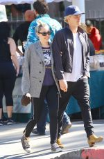 MILEY CYRUS and Cody Simpson Out Shopping in Calabasas 02/15/2020