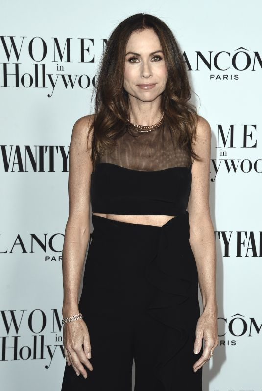 MINNIE DRIVER at Vanity Fair & Lancome Toast Women in Hollywood in Los Angeles 02/06/2020