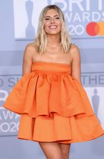 MOLLIE KING at Brit Awards 2020 in London 02/18/2020