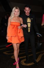 MOLLIE KING at Brit Awards After-party in London 02/18/2020
