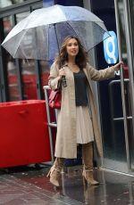 MYLEENE KLASS Arrives at Global Office in London 02/28/2020
