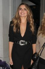 NADINE COYLE Arrives at a Party in London 02/27/2020
