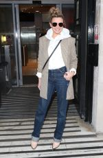 NADINE COYLE Leaves BBC Studios in London 02/08/2020