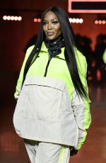 NAOMI CAMPBELL at TommyNow Show at London Fashion Week 02/16/2020