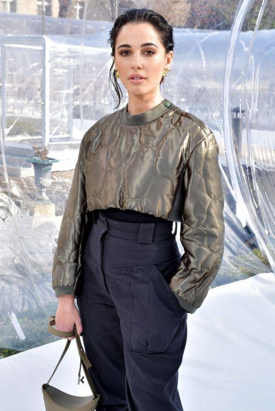 NAOMI SCOTT at Kenzo Show at Paris Fashion Week 02/26/2020