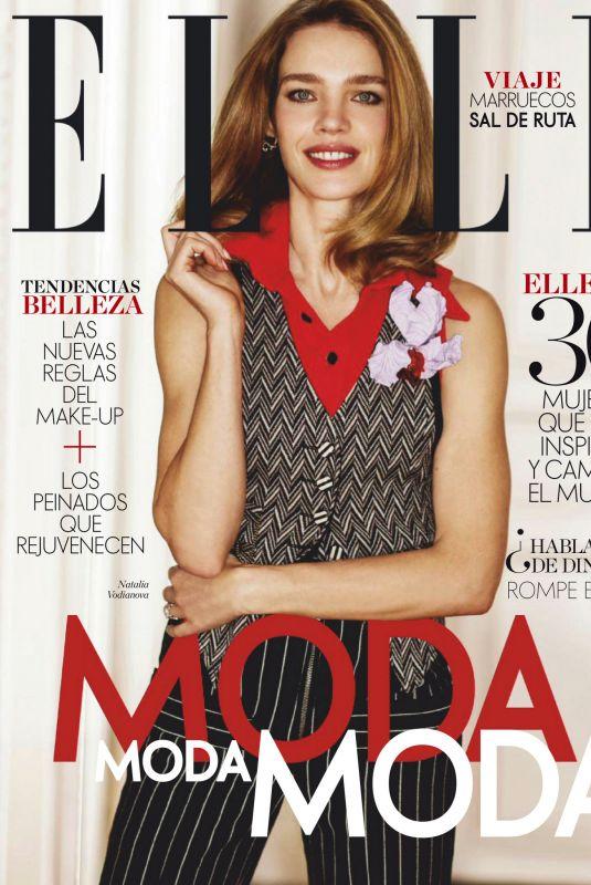NATALIA VODIANOVA in Elle Magazine, Spain March 2020