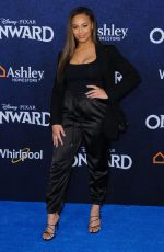 NIA SIOUX at Onward Premiere in Hollywood 02/18/2020