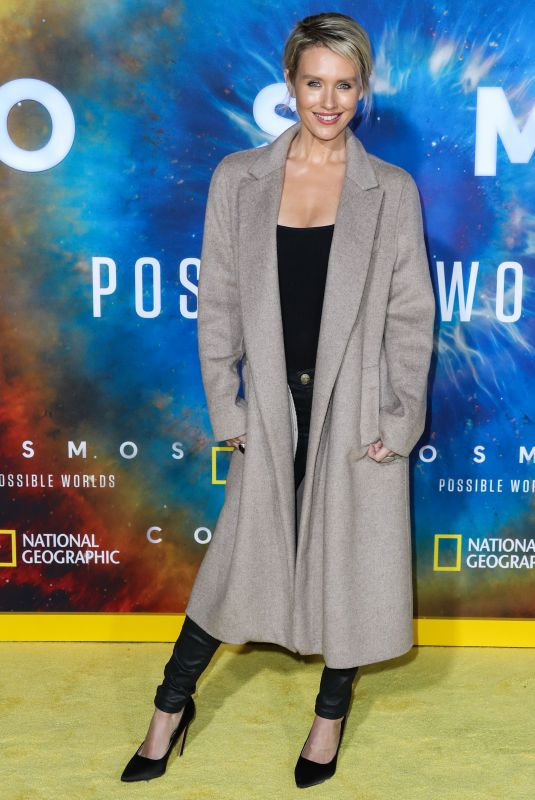 NICKY WHELAN at Cosmos: Possible Worlds Premiere in Los Angeles 02/26/2020