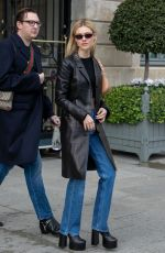 NICOLA PELTZ Out and About in Paris 02/25/2020
