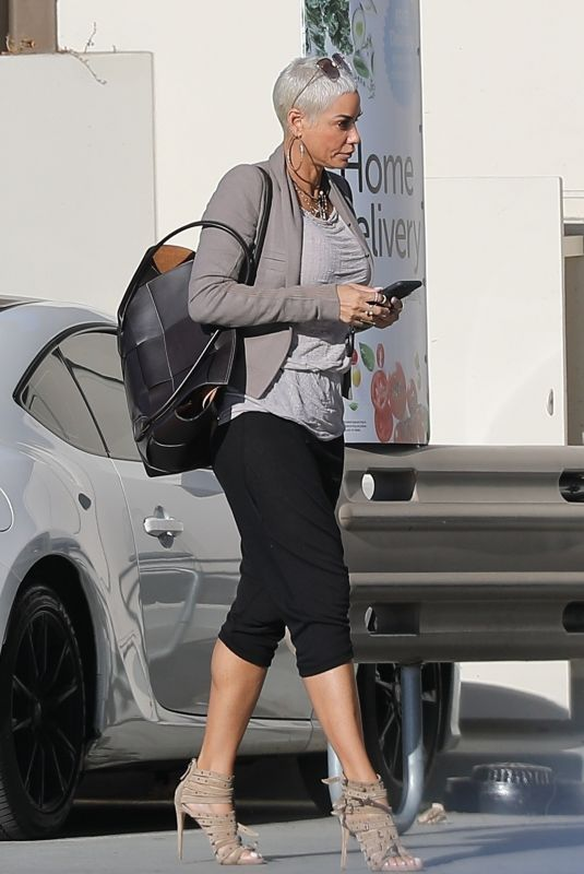NICOLE MURPHY Out in West Hollywood 02/04/2020