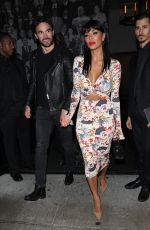 NICOLE SCHERZINGER and Thom Evans at Catch LA in West Hollywood 02/15/2020